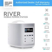 ECOFLOW RIVER - White. Mobile Power Station 500W. GENERATOR, BATTERY, SOLAR.