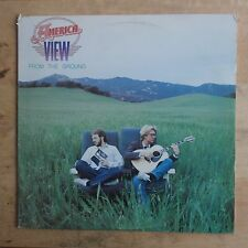 America View From The Ground 1982 Vinyl LP Capitol Records ST-12209