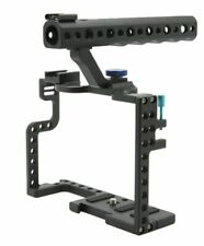 Rig Panasonic DSLR Cage Handle Camera With Lumix Camera Grip Top For GH5