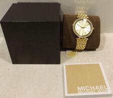 Relojes de pulsera Michael Kors oro resistente al agua