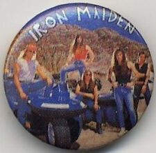 Iron Maiden Badge Button #2BASEDBASED