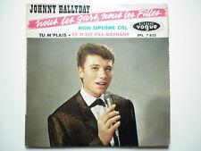 Johnny Hallyday 45Tours EP vinyle Nous Les Gars, Nous Les Filles vogue