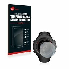 Suunto Ambit3 Run Black, Savvies® Xtreme HD33 Tempered Glass Screen Protector