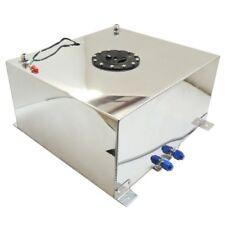 Aluminum 20 Gallon Lightweight Race Drift Fuel Cell Tank & Level Sender & Foam