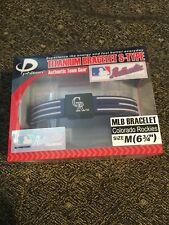 Colorado Rockies MLB Authentic Collection Titanium Bracelet S-Type Phiten New