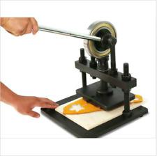 Hand Press Mold Mould Die Sample Cutting Machine Leather Cutter Creasing Mach Sj