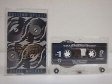 THE ROLLING STONES Steel Wheels PROMO Cassette NM Tape/Housing/Case CT45333 RARE