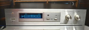 Pioneer RG-2 RG Dynamic Processor. Classic silver face model with blue-light