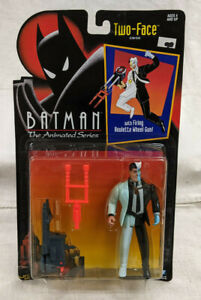 Kenner Batman The Animated Series Two-Face Action Figure - Sealed - Vintage
