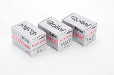 3 X Rollei Retro 400 S 135-36 / Pellicola negativo bianco e nero
