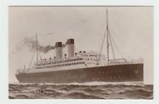 RMS EMPRESS OF BRITAIN, HUNT POST CARD, UNUSED (SEE BELOW)