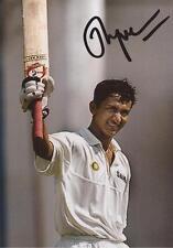 India: Sanjay Bangar Signed 6x4 Test Action Photo+Coa