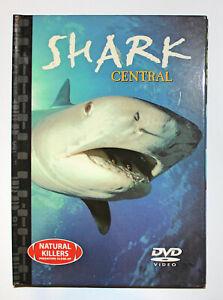 Natural Killers - Predators Close Up - Shark Central   [DVD + Book]