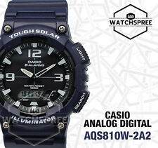 Casio Analog Digital Tough Solar Watch AQS810W-2A2 AQ-S810W-2A2