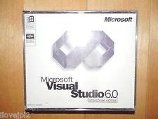 Microsoft Visual Studio Enterprise 6.0 VE VS 6 C++ FoxPro = Basic for Windows 10