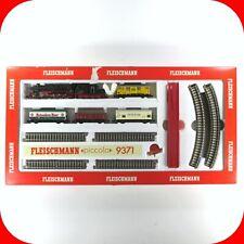 N Scale Fleischmann 9371 Train Set Deutsche Bahn 2-10-0 Steam Locomotive, 4 cars