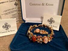 Camrose Kross JBK Cameo Bracelet With COA