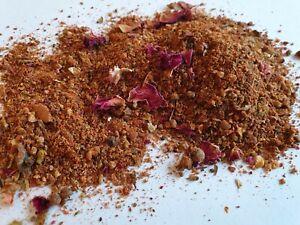 Moroccan Ras-El-Hanout Seasoning With Rose Petals Authentic Spice Mix