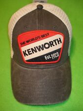 KENWORTH HAT:     Est. 1923 Mesh Back Truckers Cap      * FREE SHIPPING IN USA *