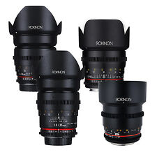 Rokinon Cine DS T1.5 Cine Lens Kit for MFT Mount - 50mm + 35mm + 24mm + 85mm