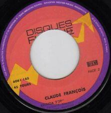 CLAUDE FRANCOIS LE LUNDI AU SOLEIL /BELINDA FRENCH 45 SINGLE LABEL FLECHE DECALE