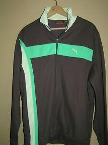 Men's PUMA Full Zipper Front Warm-Up Jacket - XL