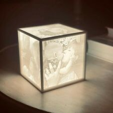 Custom 3D-Printed Lithopane Lamp