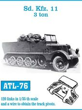 1/35 FRIULMODEL ATL-76 METAL TRACKS for GERMAN Sd Kfz 11 3 Ton HALF-TRACK