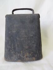 Vintage Rustic Primitive Cow Bell 6' Tall  #6190