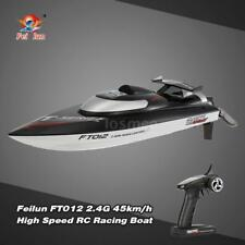 Original Feilun FT012 2.4G Brushless 45km/H Self-Righting System RC Boat O0D4