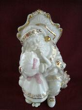 "Lenox ""Santa, Please"" China Jewels Collection Porcelain Figurine Euc"