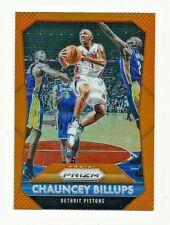 Chauncey Billups Pistons 2015-16 Panini Prizm Basketball Card #250 05/65