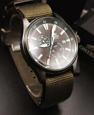 Orient Defender II 2 Automatic Black Dial Green Strap RA-AK0403N10B Men's Watch