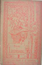 Catalogue illustré du musée du Luxembourg 1884 - Arts L.Baschet - DUMAS cartonné
