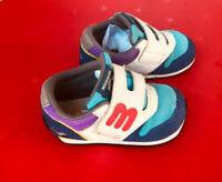 Mikihouse Mizuno  Kids Baby Boys shoes sneaker 15.5cm/US 6 Multi color Japan