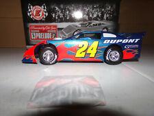 1/24 JEFF GORDON #24 DUPONT 2007 ADC LATE MODEL DIRT CAR NASCAR DIECAST