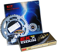 SUZUKI V-STROM 250 2017 > 2019 PBR / EK CHAIN & SPROCKETS KIT 520 PITCH