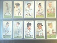 1929 Wills RUGBY INTERNATIONALS football  set 50 cards Tobacco Cigarette