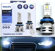 Philips Ultinon LED G2 6500K White H11 Two Bulbs Head Light Upgrade Replacement