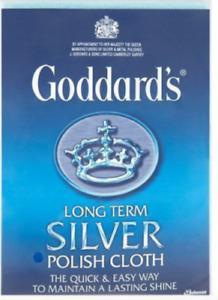 Goddard's Silver Polish Cloth Goddard's Long Term over 5000 sold