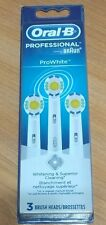 Oral-B Professional ProWhite 3 Pack Of Brush Heads