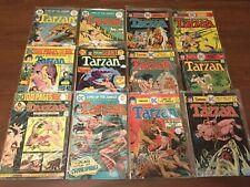 VINTAGE LOT of 31 TARZAN, LORD OF THE JUNGLE comic books DC BRONZE AGE 092