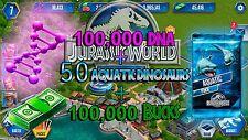 Jurassic WORLD The Game Builder 50 AQUATIC PACKS, DNA & BUCKS Android iOS park