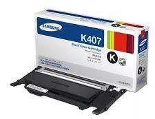 Samsung Genuine CLT-K407S Black Toner for CLP-320N,CLP-325,CLX-3185,CLX-3185FN