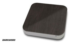 Skin Decal Wrap for Apple Mac Mini Desktop Computer Graphic Protector DARKWOOD