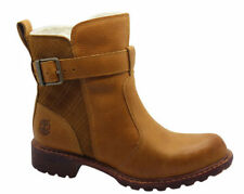 Timberland Leather Slip On Ankle Boots for Women