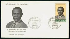 MayfairStamps Senegal 1970 Dr. Price Mars Haiti First Day Cover WWH19135