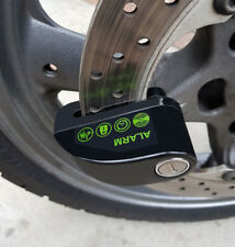 Anti-Theft Motorcycle Disc Alarm Lock with Storage / Carry Case