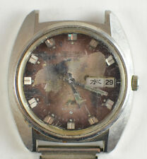 Vintage 1970s Mens Seiko LM 25J Automatic Watch 5606-7231 Running for Parts