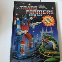 VINTAGE TRANSFORMERS POP-UP BOOK 1987 BEEHIVE BOOKS 1980s
